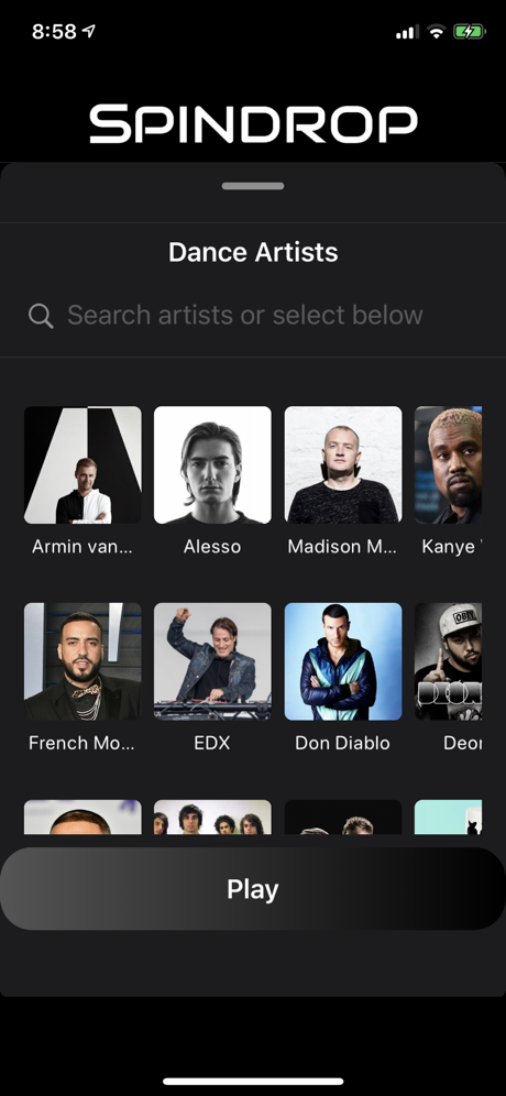 Select a Playlist